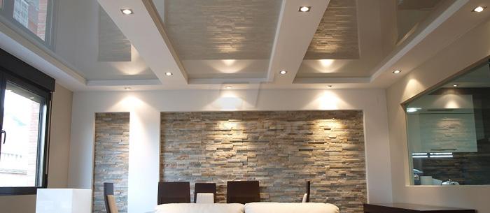 Revestimiento techos y paredes con lona tensada - Revestimiento de techos ...